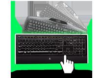 Link zu Logitech Tastaturen