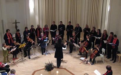 es Singen in der Kirche der Stille 2011