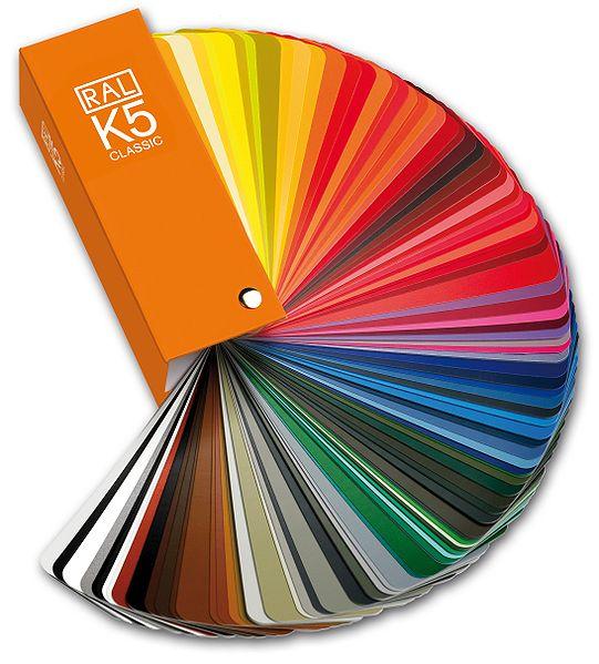 RAL Farbtafel