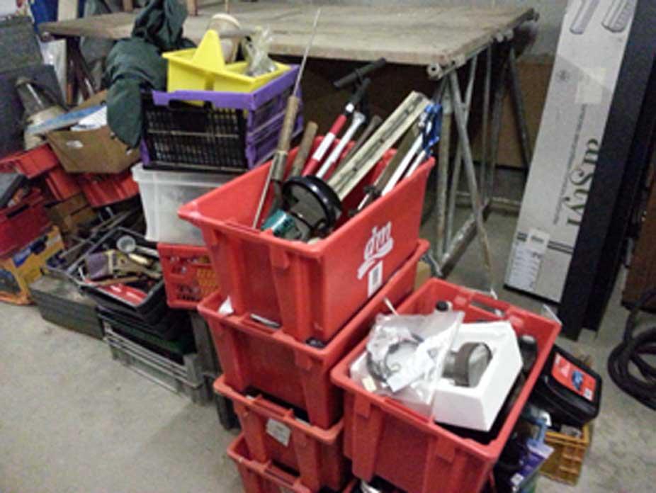 Werkzeuge aus Firmenauflösung