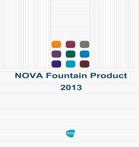 Nova Fountain Product 2013