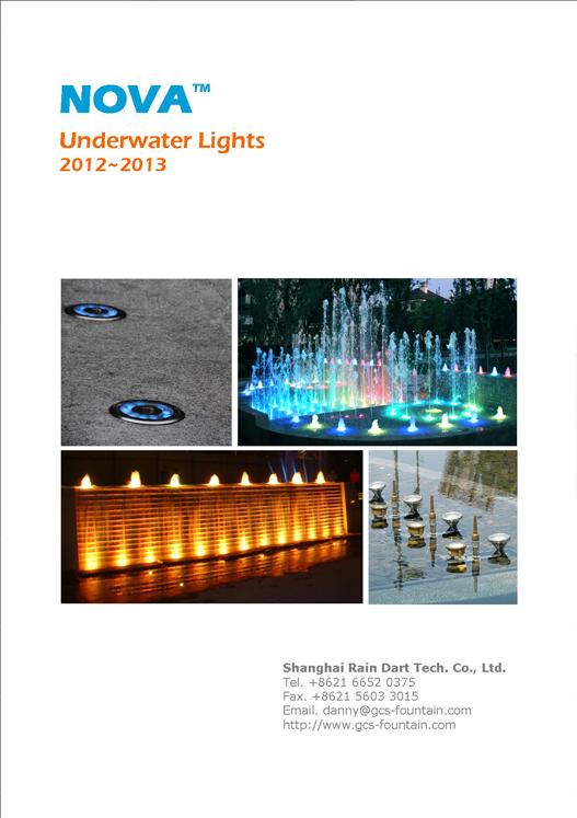 NOVA Underwater Lights 2012-2013